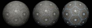 """Fearfu Symmetry (36"""" sphere)"""